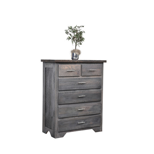 London Fog Chest of Drawers (Barn Wood)