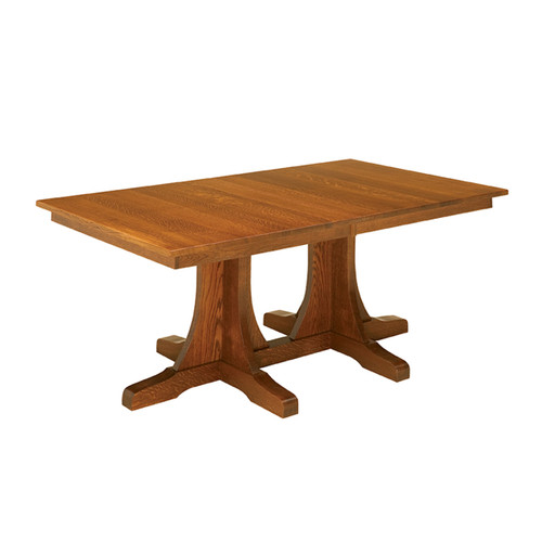 Double Pedestal Mission Table