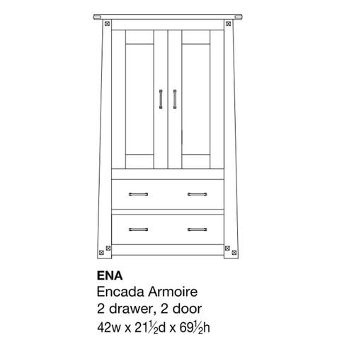 Encada Armoire