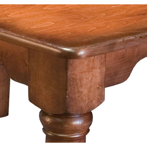 French Farmhouse Leg Table