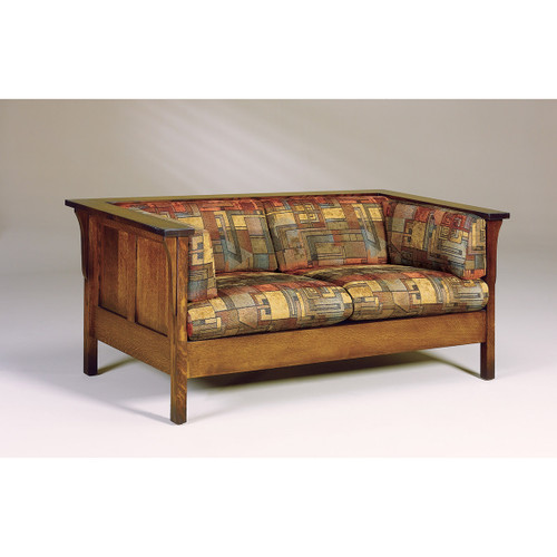 Cubic Panel Loveseat