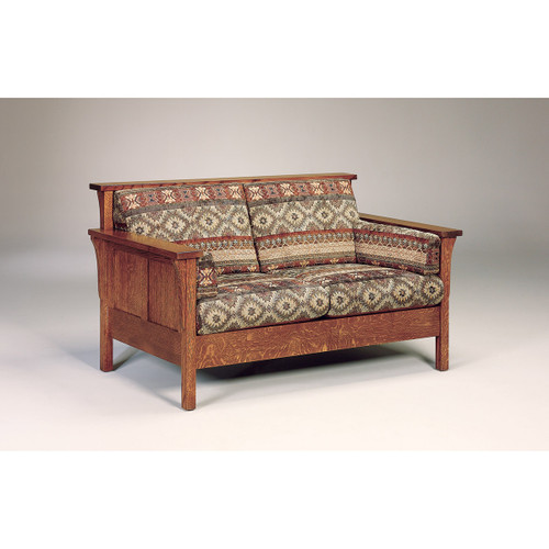 High Back Panel Loveseat