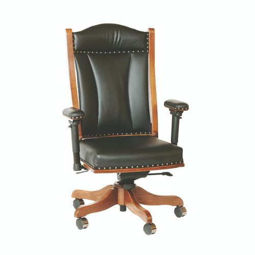 Desk Chair (Gas Lift & Adjustable Arms)
