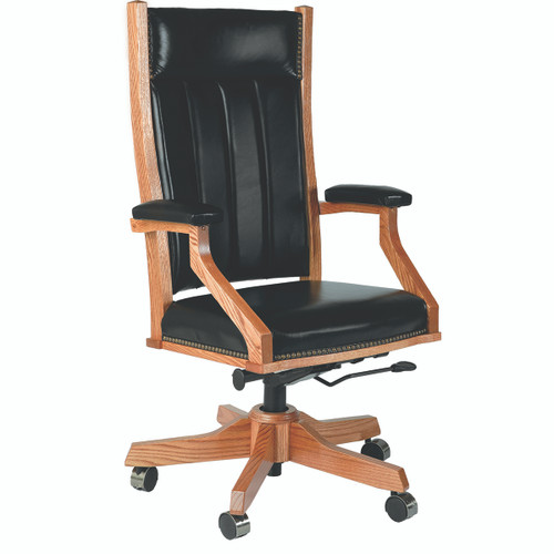 Mission Arm Desk Chair (Gas Lift)