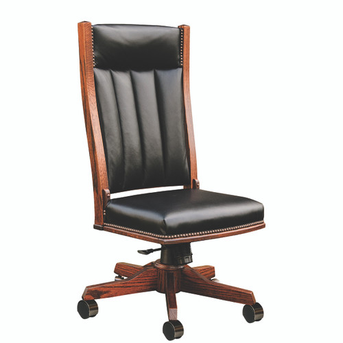 Mission Side Desk Chair (Gas Lift)