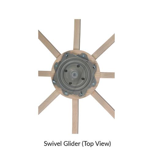 Saratoga Swivel Glider
