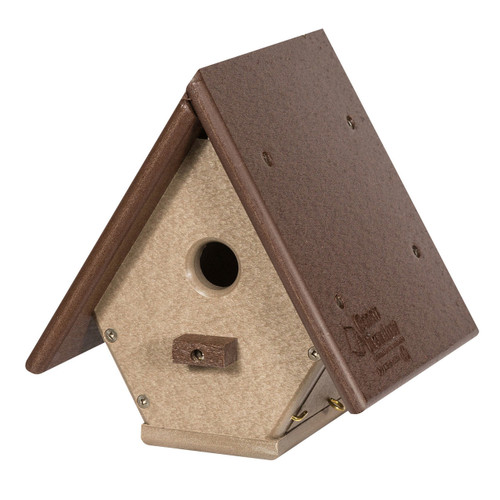Wren Birdhouse | Hanging Birdhouse for Nesting Wrens
