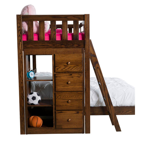 Bunk Bed (with Bookcase)