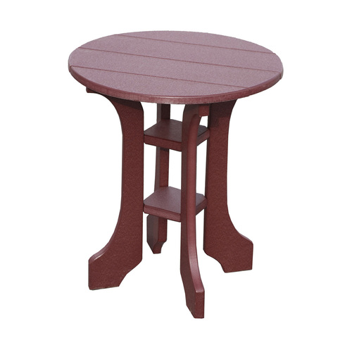 Polywood Round End Table