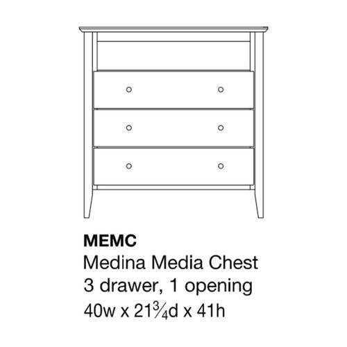 Medina Media Chest