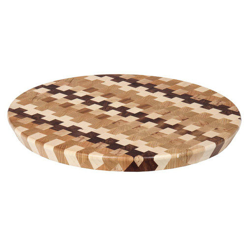 Lazy Susan (with Checkered End Grain)
