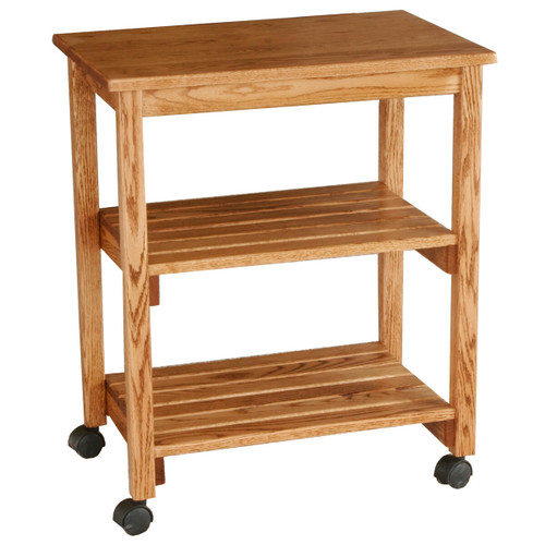 Microwave & Serving Cart