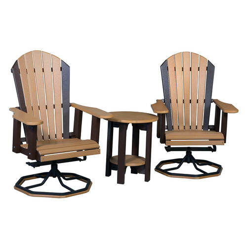 Adirondack Chair with Steel Swivel Base (Poly)