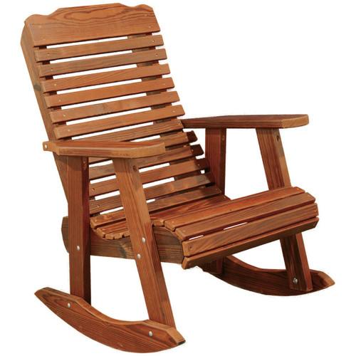 Cedar Contoured Rocking Chair