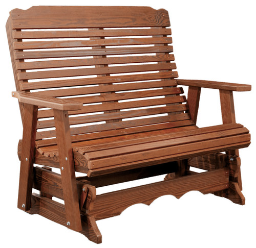 Cedar Contoured Porch Swing