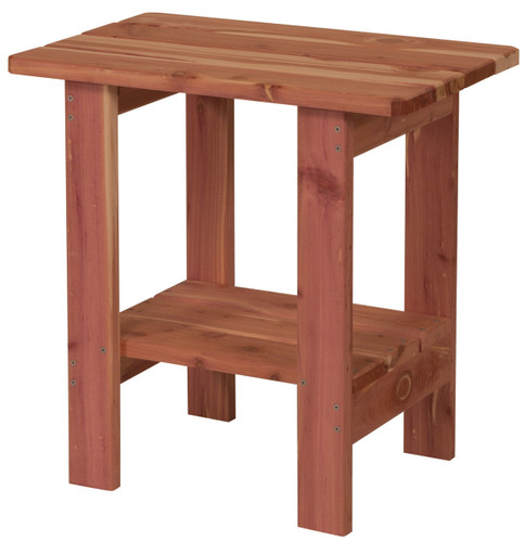 Cedar End Table