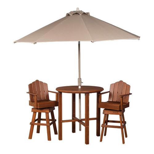 Cedar Bistro Table