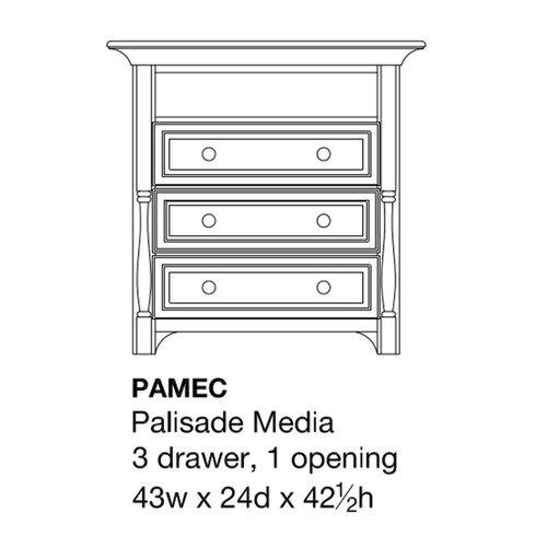 Palisade Media Chest