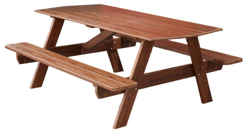 6' Cedar Picnic Table