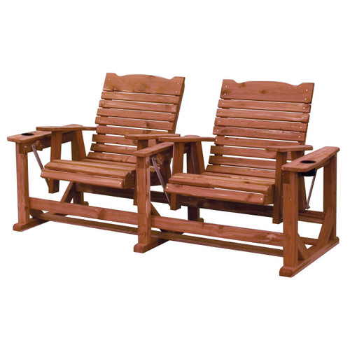 Cedar Straightback Settee