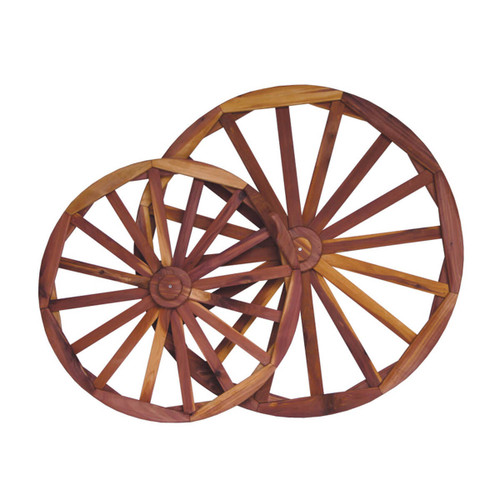 Cedar Decorative Wagon Wheel