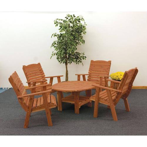Cedar Round Coffee Table