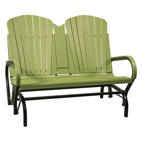 Outdoor Fan Back Loveseat Glider