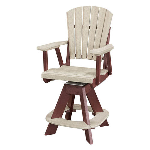 Micah Polywood Swivel Chair