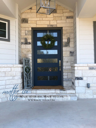 Home Front Porch Sign| Front Porch Decor| Home Wreath Sign| Front Porch Sign with Wreath