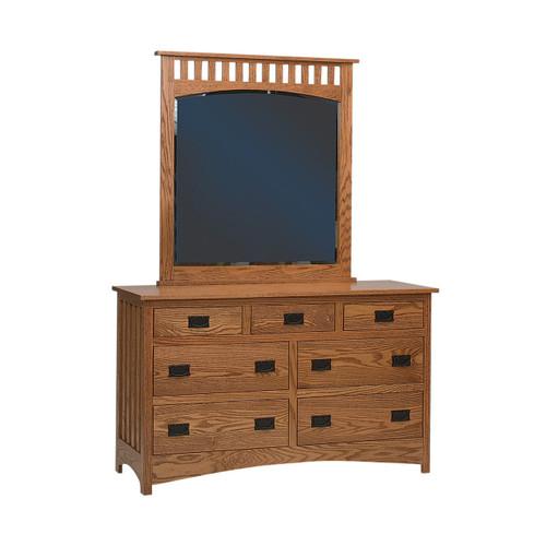 """Schwartz Mission 60"""" Dresser"""