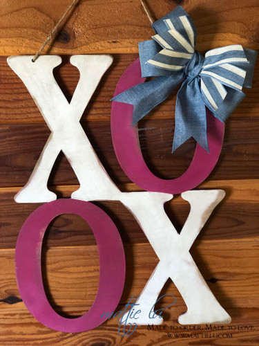 Valentine's Day Door Decor| XOXO Door Hanger| XoXo Door Decor