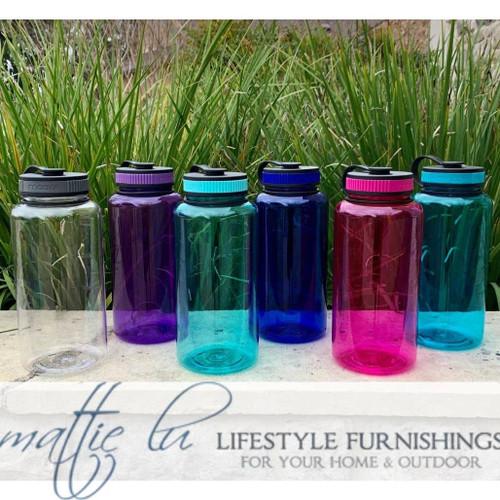 Personalized Water Bottle | 32 oz Tritan Sport Bottle | Big Summit | Monogrammed Water Bottle | Sorority Water Bottle | Unique Birthday Gift