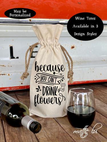 Funny Valentine's Day Wine Tote Bag, Valentines Wine Tote, Gift for Her, Gift for Him, Valentine Gift, Wine Lover Gift, Galentine, Mattie Lu