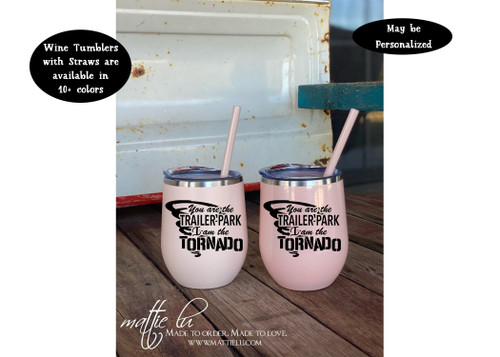 Trailer Park Tornado Beth Dutton Tumbler, Yellowstone Dutton Ranch Tumbler, Yellowstone TV Show Gift for Her, Yellowstone Tumbler, Mattie Lu