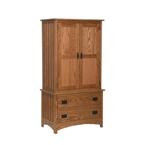 Schwartz Mission Armoire Chest On Chest