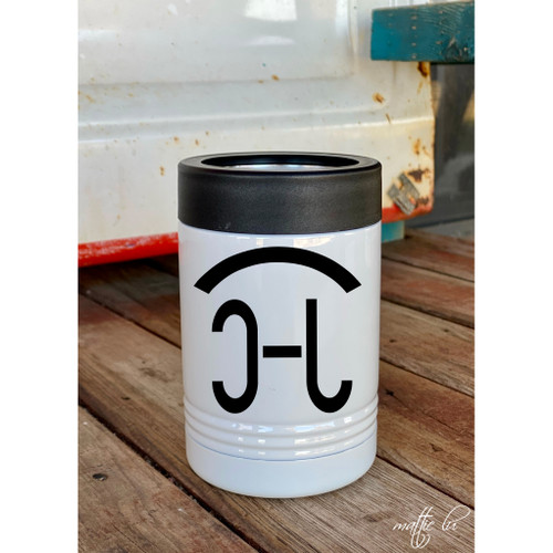 Personalized Cattle Brand Insulated Can Cooler