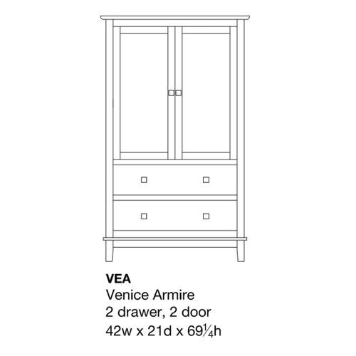 Venice Armoire