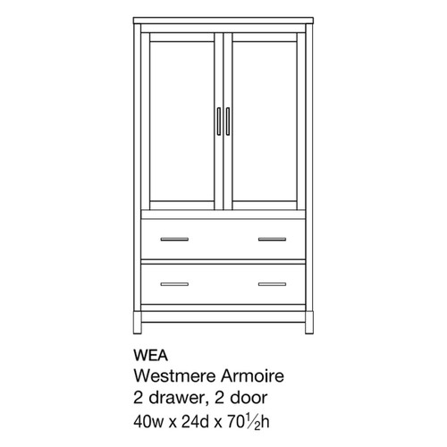 Westmere Armoire