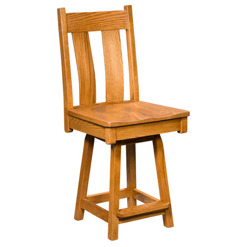 Bostonian Swivel Bar Stool