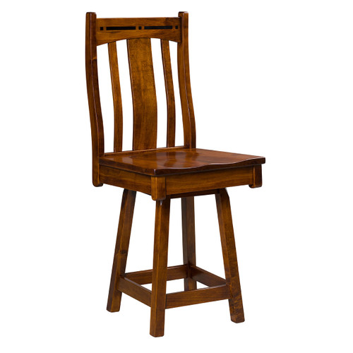 Boulder Creek Swivel Bar Stool