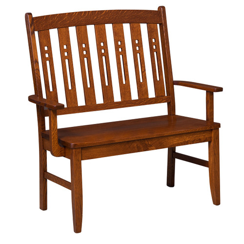 Jamestown Deacon Bench