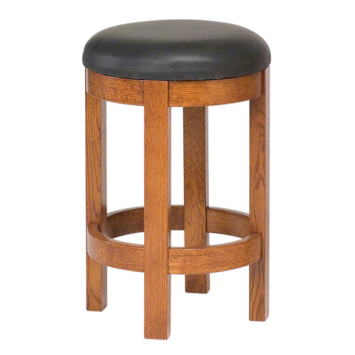 Barrel Swivel Bar Stool