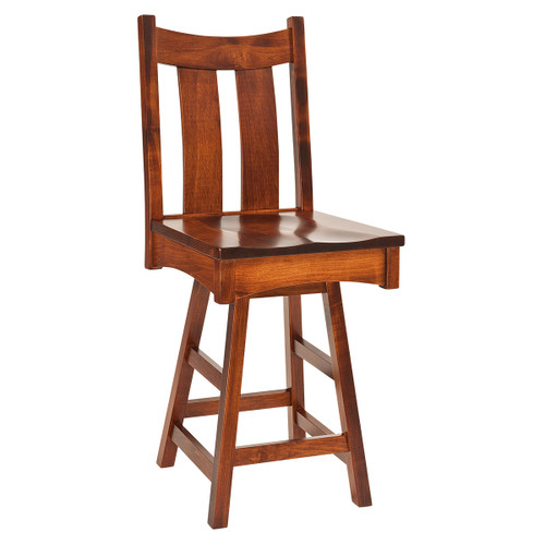 Country Shaker Swivel Bar Stool