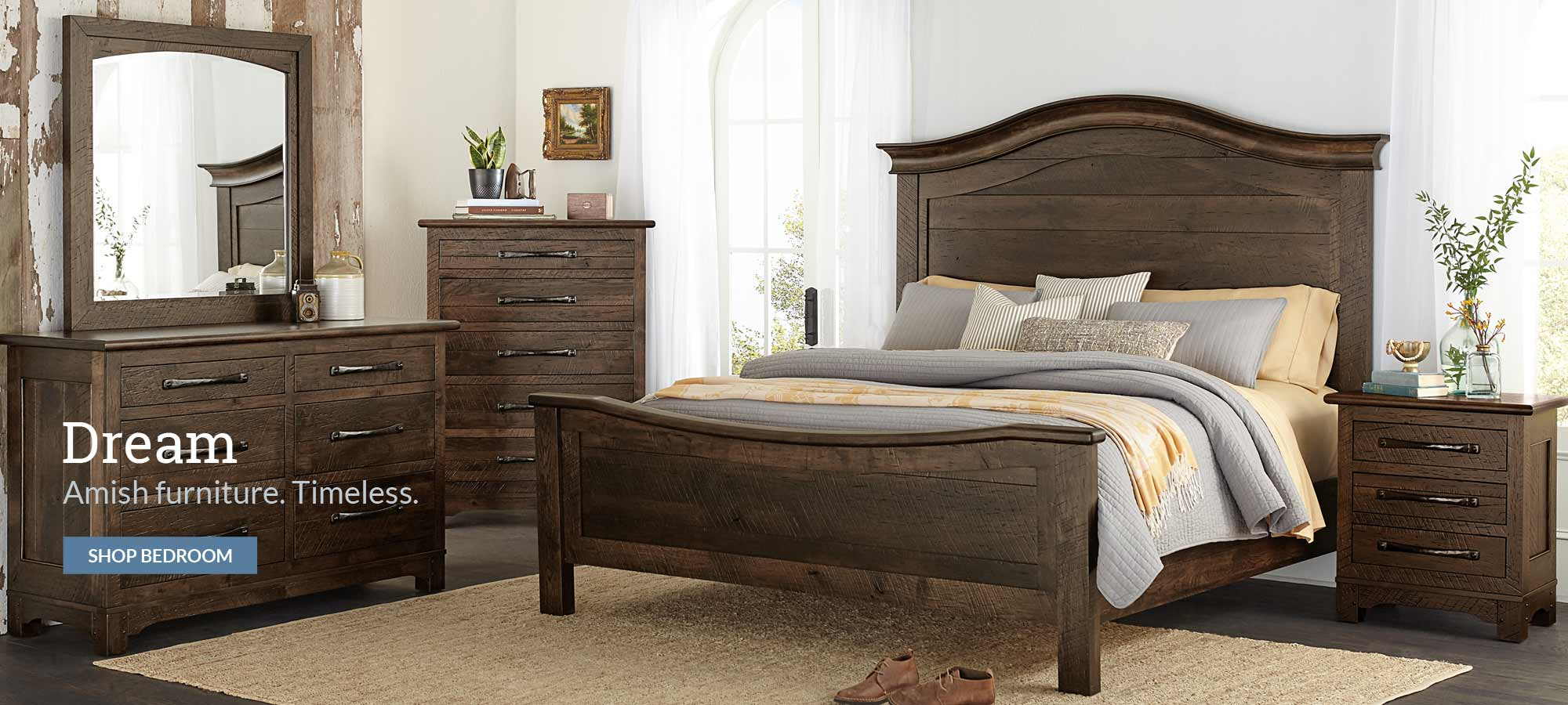 Mattie Lu - Amish Solid Wood Bedroom Furniture