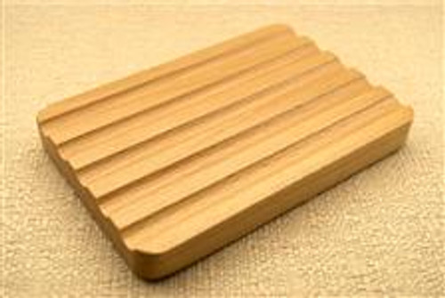 Full Size Bar- Rectangular Wooden Soap Holder