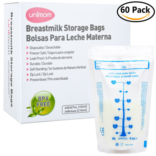 Unimom 60 Standard Breast Milk Storage Bags