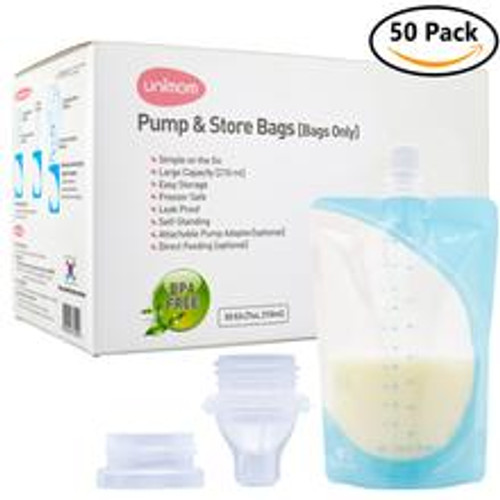 Unimom 50 Pump and Store Milk Bags
