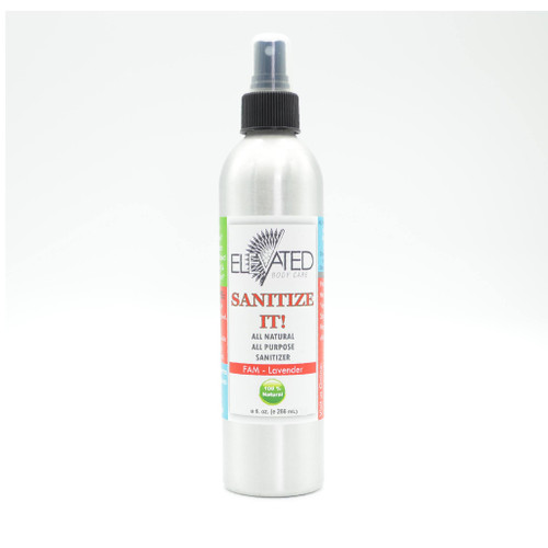 ELEVATED – SANITIZE IT! Natural Sanitizer