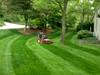 Lawn striper results