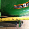 """Lawn Striping on John Deere Z720A with the 60"""" 7 Iron deck without anti-scalp wheel brackets."""